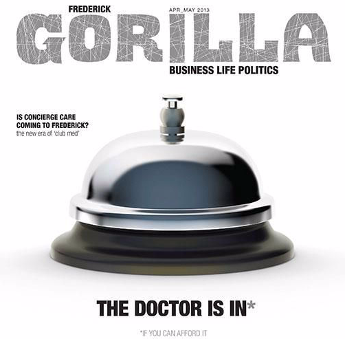 Gorilla Magazine Cover